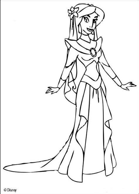 jasmine coloring pages pdf princess jasmine coloring pages hellokids com