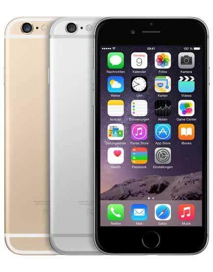 Iphone 6 Ohne Vertrag Kaufen 398 by Apple Iphone 6 G 252 Nstig Mit Und Ohne Vertrag Handyeins De
