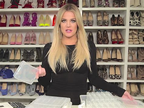 khloe kardashian organization watch khlo 233 kardashian share her jewelry organization tips