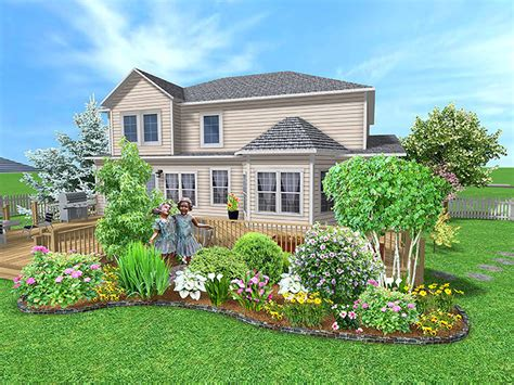 landina easy to simple landscaping ideas around house