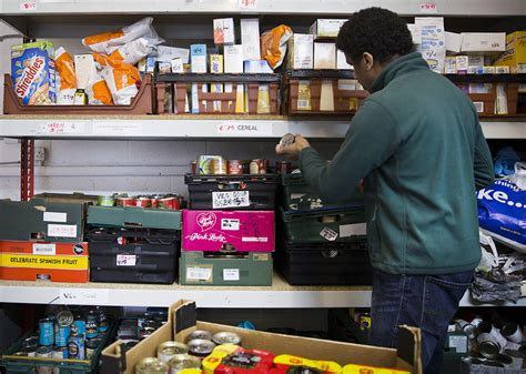 How Does A Food Pantry Work by How Foodbanks Work The Trussell Trust