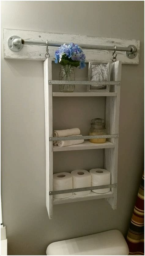 hanging shelf ideas 15 diy bathroom shelving ideas that can boost storage