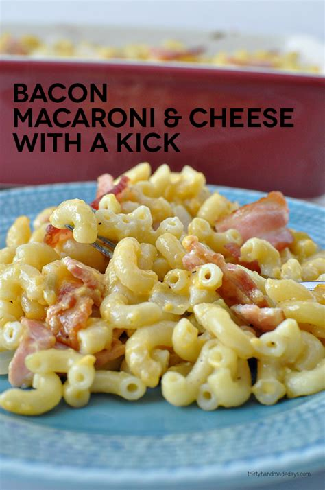 how many days until macaroni and cheese day bacon macaroni and cheese with a kick