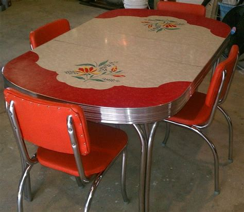 Formica Kitchen Table 17 Best Images About Vintage Enamel Or Formica Kitchen Tables And Chairs On Table