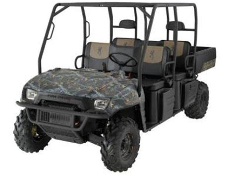 2009 polaris ranger™ crew™ browning® le for sale : used