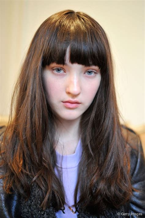 blunt cut hairstyles with bangs long hairstyle ideas blunt cut with bangs