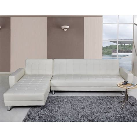 Convertible Sectional by Gold Sparrow Frankfort Faux Leather Convertible Sectional