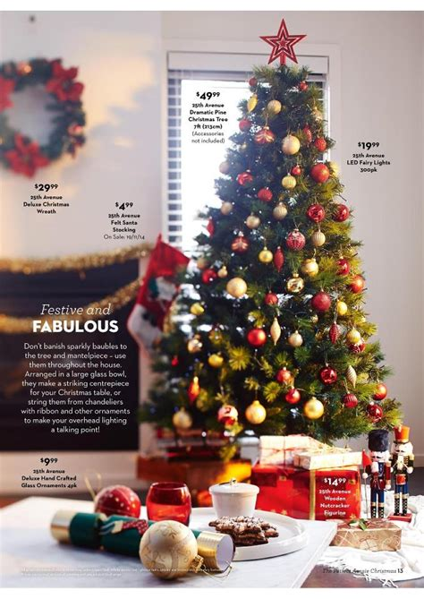 aldis christmas decorations aldi aussie catalogue page 13