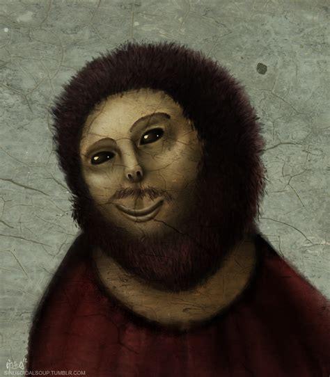 ecce homo image 383438 botched ecce homo painting know your meme