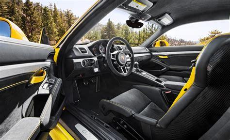 porsche cayman interior 2017 2017 porsche cayman gt4 reviews autosdrive info