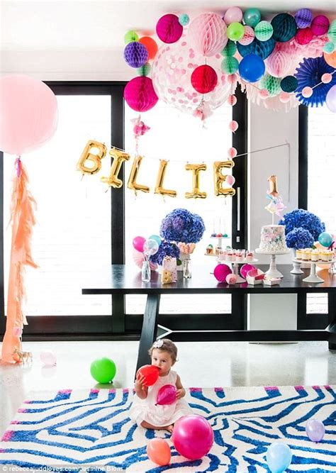 birthday decorations at home photos inside rebecca judd s daughter s lavish first birthday