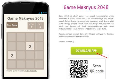 cara membuat game berbasis android salam cara membuat game 2048 android tanpa coding