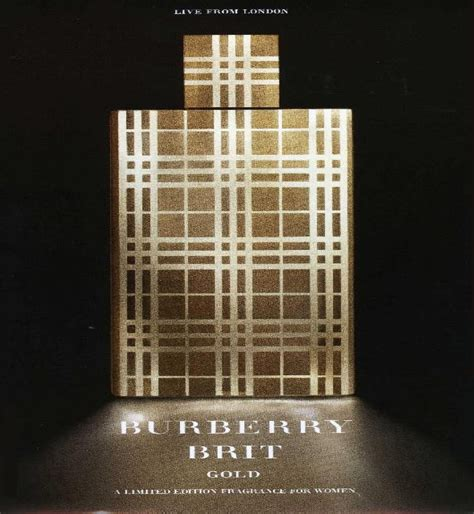 Parfum Burberry Gold burberry brit gold burberry perfume a fragrance for