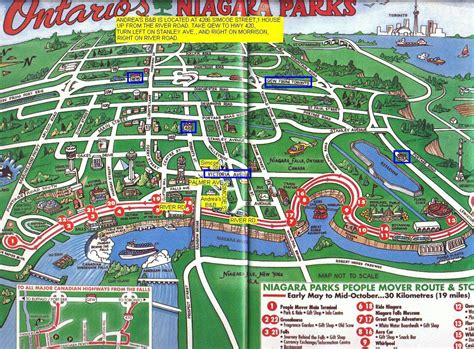 niagara falls hotels canada map map of niagara falls ontario niagara falls canada hotels