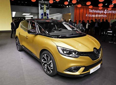 New 2019 Renault 4 by New 2018 2019 Renault Scenic 4 Generation Minivan