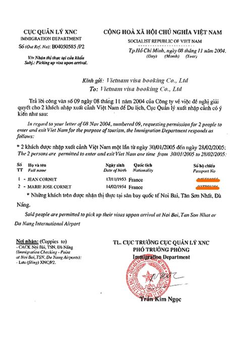 Sample Invitation Letter For Malaysia Tourist Visa   Cover