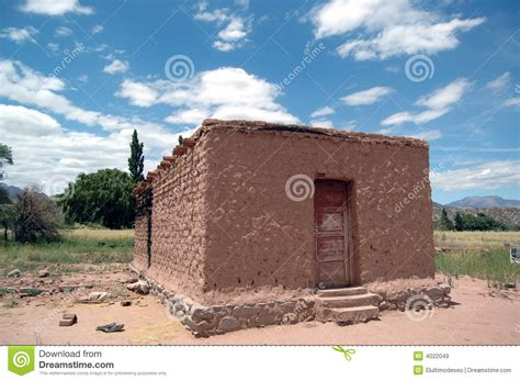 Adobe Home Plans Adobe House Stock Image Image Of Sonora Detail Cloud