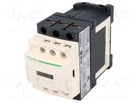 lc1d18bd schneider electric contactor 3 pole tme