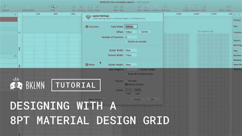 material design layout grid tutorial 8pt grids layout material design gui