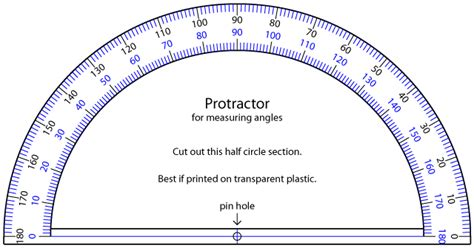 printable protractor actual size can t find a protractor here s one you can print on clear