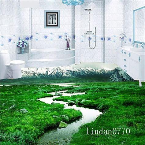 2017 bathroom floor meadow snowy 3d 3d 3d tile bathroom floor tile floor tile 3d 3d prairie