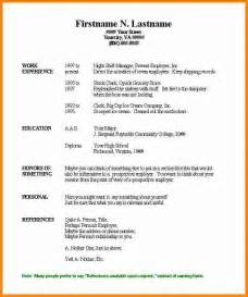 free basic resume templates microsoft word svoboda2