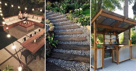 amazing backyard ideas  wont break  bank yard