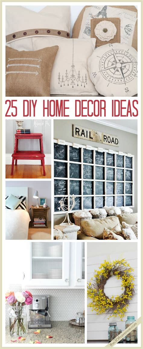 diy ideas home decor the 36th avenue 25 diy home decor ideas the 36th avenue
