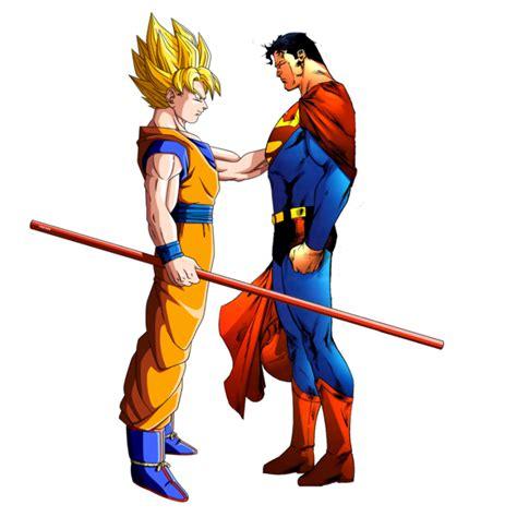 imagenes goku vs superman goku vs superman 191 qui 233 n ganar 237 a esta batalla batanga