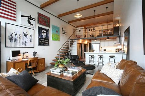 living room loft ideas oliver simon design loft project industrial living room vancouver by antique market
