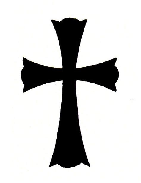 plain black cross tattoo 25 best ideas about black cross tattoos on