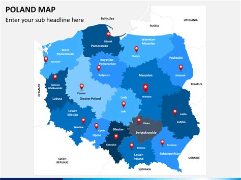 powerpoint poland map sketchbubble