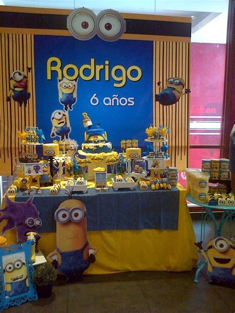 Minion Table Decorations by 1000 Images About Despicable Me Minions Ideas On