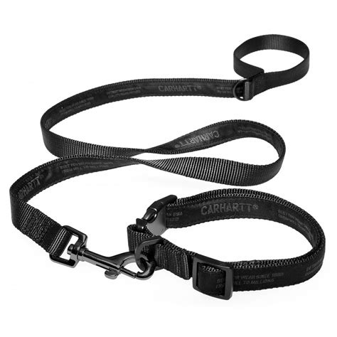 collars and leashes carhartt collar and lead black