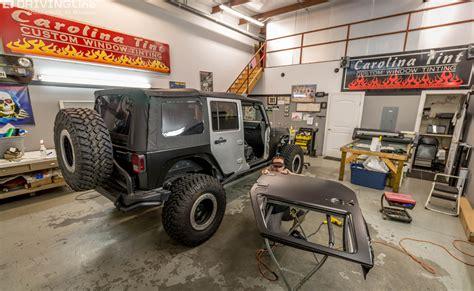 jeep painting 3m vinyl vehicle wrap our jeep jk gets a new paint job