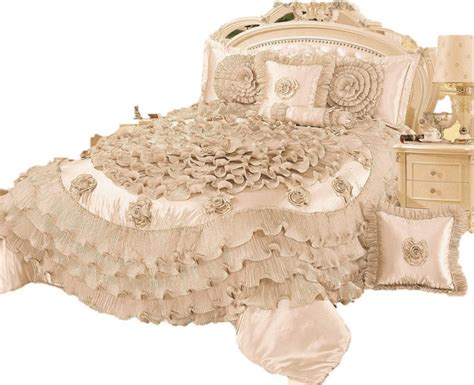 victorian comforter set 6 piece frosted fields faux satin luxury comforter set