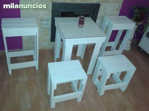 taburetes milanuncios mesa taburetes palets segunda mano