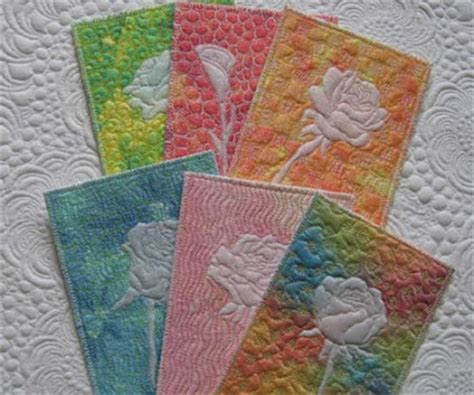Small Patchwork Projects Free - quilted postcards geta s quilting studio