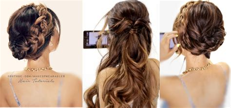 back to school updo hairstyles 3 amazingly easy back to school hairstyles with merged braids