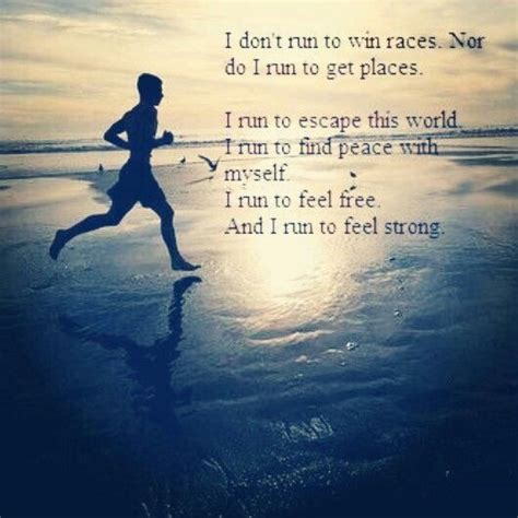 A Place I Like To Escape To Running Quote Gotta Run I Am Fitness Motivation Quotes And Therapy