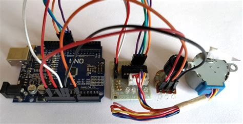 how to motor using arduino stepper motor with potentiometer and arduino