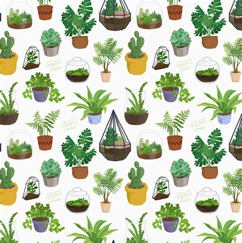 pattern plant drawing practising lineless artwork and drawing a lil hari