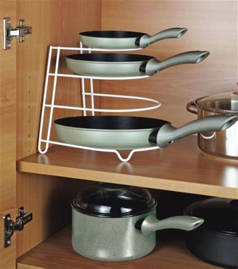 Kitchen Pot Stand Kitchen Rack Frying Pan Pot Stand Holder Space Saver