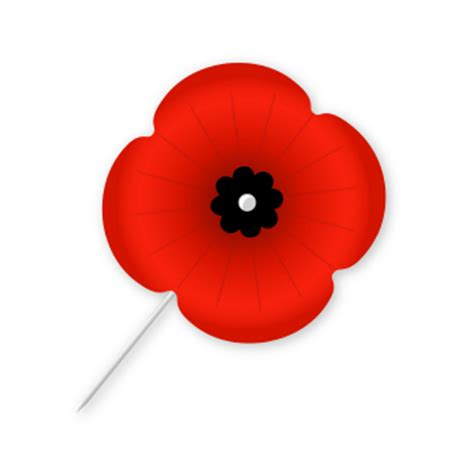 remembrance poppy template clipart best