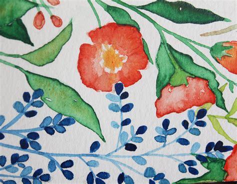 Watercolor Tutorial Easy | easy watercolor flower tutorial