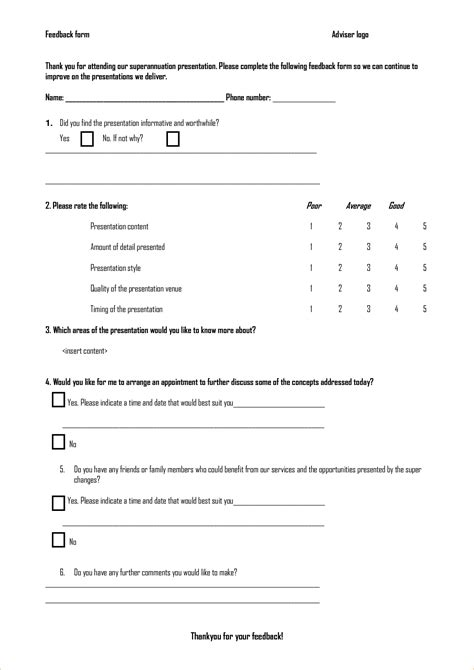 template of feedback form feedback form template feedback survey template jpg pay