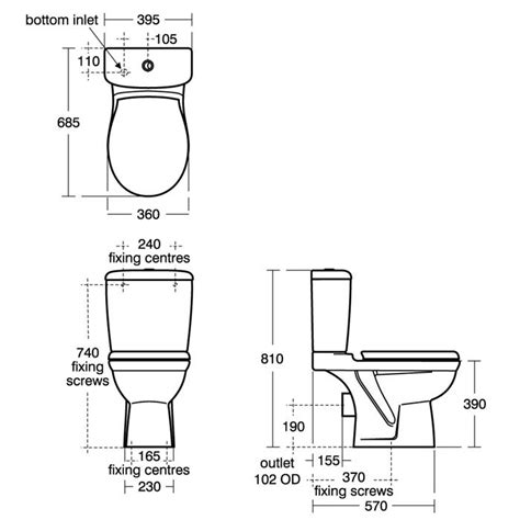 size of toilet standard toilet measurements go search for tips tricks cheats search at search