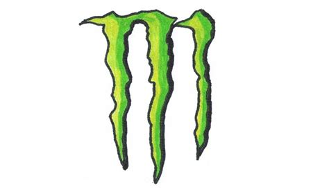 energy drink drawing how to draw the energy logo symbol