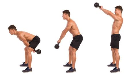 kettlebell swing exercise how to do a kettlebell swing plus form tips variations