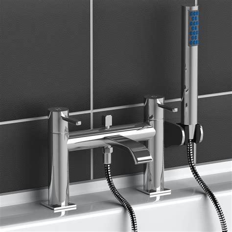 bath taps shower attachment modern chrome brass monobloc sink bathroom filler bath mixer tap handheld shower ebay